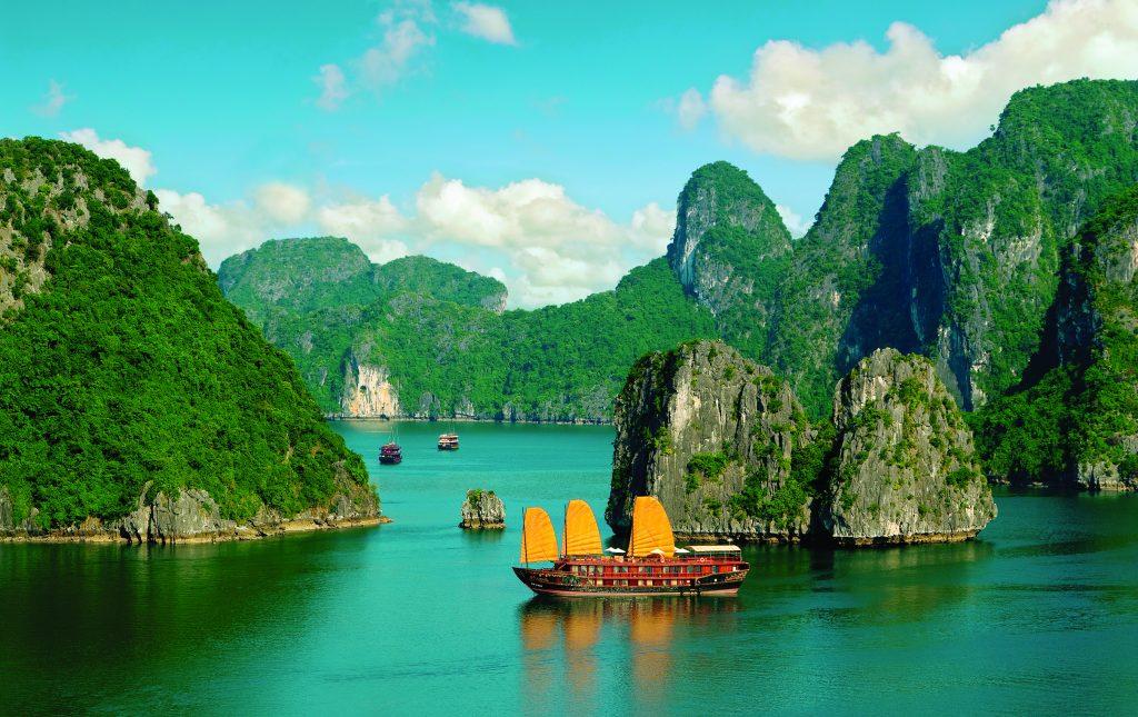 vietnam, halong bay körfezi