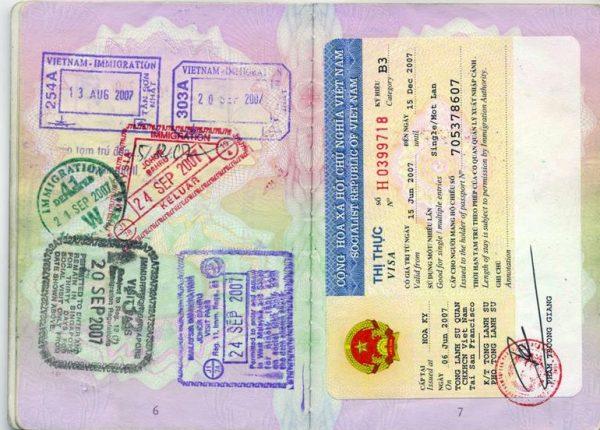 Vietnam vizesi için gerekli evraklar nelerdir ?