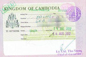 kamboçya vizesi
