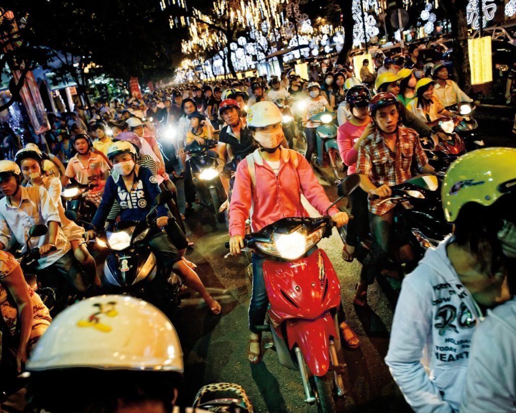 ho chi minh city motosiklet trafiği